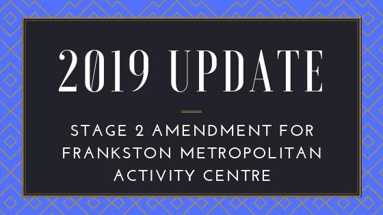 Amendment for Frankston Metropolitan Activity Centre