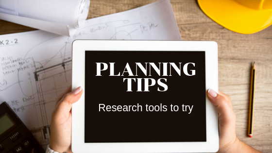 Planning Tips, Research tool