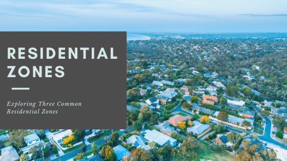 Exploring three common residential zones in Melbourne